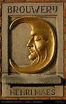 Henri Maes Relief, Brouwerij de Halve Maan, Walplein, Bruges, Brugge, Belgium