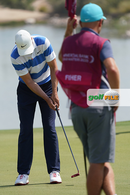 Ross Fisher (ENG) during the third round of the Commercial Bank Qatar Masters 2020, Education City Golf Club , Doha, Qatar. 07/03/2020<br /> Picture: Golffile | Phil Inglis<br /> <br /> <br /> All photo usage must carry mandatory copyright credit (© Golffile | Phil Inglis)
