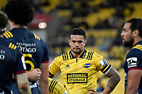 Hurricanes&rsquo; Chris Eves in action during the Super Rugby - Hurricanes v Highlanders at Westpac Stadium, Wellington, New Zealand on Friday 8 March 2019. <br /> Photo by Masanori Udagawa. <br /> www.photowellington.photoshelter.com