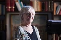 Fine Anne. Leicester, 1947. Anne Fine è tra le più famose scrittrici inglesi. Ha alle spalle una lunga esperienza di insegnamento. Mantova 8 settembre 2018. © Leonardo Cendamo