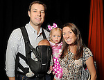 Jennifer and Kyle Roane with Emma,2, and Conor at the M.D. Anderson Halloween party at The Galleria Sunday Oct 25, 2015.(Dave Rossman photo)