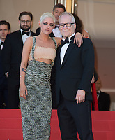 Kristen Stewart &amp; Cannes Festival boss Thierry Fremaux at the premiere for &quot;120 Beats per Minute&quot; at the 70th Festival de Cannes, Cannes, France. 20 May  2017<br /> Picture: Paul Smith/Featureflash/SilverHub 0208 004 5359 sales@silverhubmedia.com