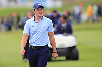 Paul Dunne (IRL) on the 1st fairway during Round 4 of the Open de Espana 2018 at Centro Nacional de Golf on Sunday 15th April 2018.<br /> Picture:  Thos Caffrey / www.golffile.ie<br /> <br /> All photo usage must carry mandatory copyright credit (&copy; Golffile   Thos Caffrey)