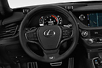 Car pictures of steering wheel view of a 2018 Lexus LS 500 F-SPORT 4 Door Sedan