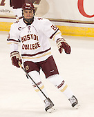 Peter McMullen (BC - 20) - The Boston College Eagles defeated the visiting University of New Brunswick Varsity Reds 6-4 in an exhibition game on Saturday, October 4, 2014, at Kelley Rink in Conte Forum in Chestnut Hill, Massachusetts.