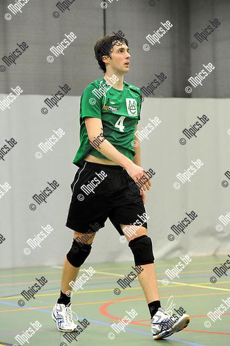 2012-10-13 / Volleybal / Seizoen 2012-2013 / Mendo Booischot / Robin Adriaensen..Foto: Mpics.be
