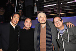 #FreshOffTheBoat Viewing Party at The Circle NYC w/ Hudson Yang, Randall Park, Eddie Huang 2-4-15
