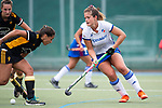 Mannheim, Germany, September 07: During the field hockey Bundesliga match between Mannheimer HC and Harvestehuder THC on September 7, 2019 at Am Neckarkanal in Mannheim, Germany. Final score 2-0. (Photo by Dirk Markgraf / www.265-images.com) *** Sonja Zimmermann #11 of Mannheimer HC