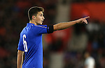 Italy's Mattia Caldara in action during the Under 21 International Friendly match at the St Mary's Stadium, Southampton. Picture date November 10th, 2016 Pic David Klein/Sportimage