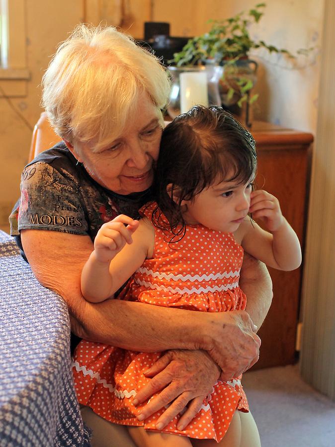 Maureen with Ava Grey.