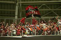 Porto Alegre (RS), 02/10/2019 - Libertadores / Grêmio x Flamengo -   torcida  do Flamengo comemora gol durante a partida contra o Grêmio válido pela semifinal da Libertadores na Arena do Grêmio em Porto Alegre nesta quarta-feira, 02. (Foto: Robson Alves/Brazil Photo Press/Agencia O Globo) Esportes