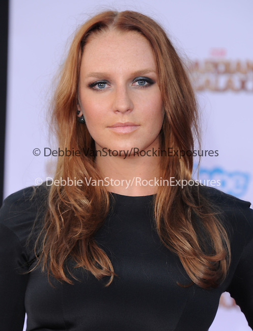 Annie Maude Starke<br /> <br /> <br />  attends The Marvel Studios World Premiere GUARDIANS OF THE GALAXY held at The Dolby Theatre in Hollywood, California on July 21,2014                                                                               © 2014Hollywood Press Agency