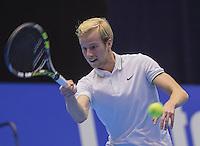 Rotterdam, Netherlands, December 15, 2016, Topsportcentrum, Lotto NK Tennis,  Botic van de Zandschulp (NED) <br /> Photo: Tennisimages/Henk Koster