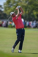 Marc Leishman (AUS) watches his approach shot on 1 during round 3 of the Arnold Palmer Invitational at Bay Hill Golf Club, Bay Hill, Florida. 3/9/2019.<br /> Picture: Golffile | Ken Murray<br /> <br /> <br /> All photo usage must carry mandatory copyright credit (© Golffile | Ken Murray)