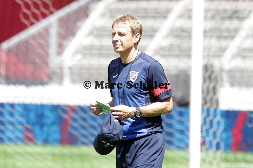 Trainer Juergen Klinsmann - Training der US-Nationalmannschaft in Washington, RFK Stadium