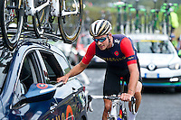 2016 Tour of Britain<br /> Stage 1, Glasgow - Castle Douglas<br /> 4 September 2016<br /> John Dibben, Team Wiggins