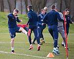 06.03.2020: Rangers training: Steven Davis