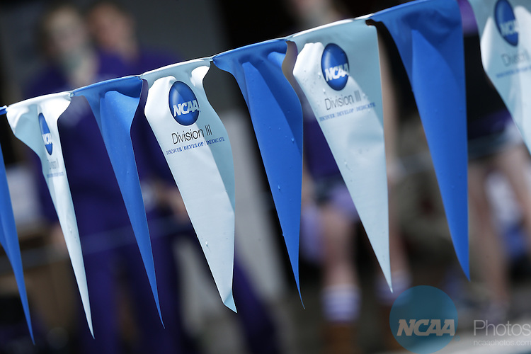 22 MAR 2014: A general view of the Division III Men's and Women's Swimming and Diving Championship held at the IU Natatorium in Indianapolis, IN. Joe Robbins/NCAA Photos
