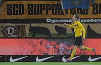 Fussball, 2. Bundesliga, Saison 2011/12, SG Dynamo Dresden - Fortuna Duesseldorf, Samstag (16.04.12), gluecksgas Stadion, Dresden. Dresdens Zlatko Dedic jubelt nach seinem Tor zum 1:0.