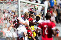 Carson, CA - Sunday, February 8, 2015 Brek Shea (11) of the USMNT. The USMNT defeated Panama 2-0 at the StubHub Center.