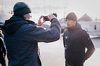 Belgian National CX coach Sven Vanthourenhout interviewed ahead of the 2nd day at the UCI 2019 Cyclocross World Championships in Bogense / Denmark<br /> <br /> &copy;kramon