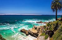 Scenic Photo Of Laguna Beach Coast