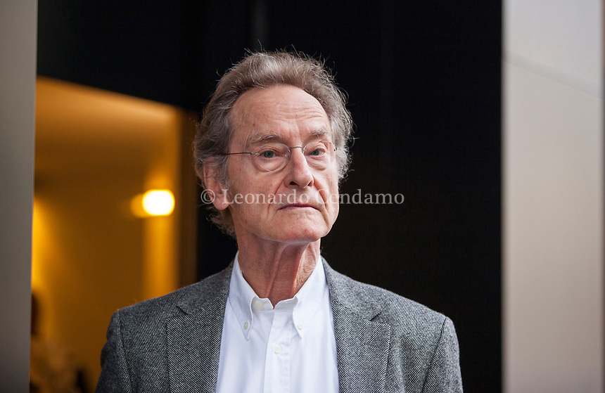 Bernhard Schlink (born 6 July 1944 in Bielefeld) is a German lawyer, Professor of the Philosophy of Law and writer. His novel The Reader, first published in 1995, became an international bestseller. Milan 23 novembre 2018. © Leonardo Cendamo