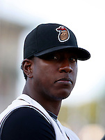 Edgmer Escalona -  2009 Modesto Nuts .Photo by:  Bill Mitchell/Four Seam Images