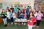 "Junior Entrepreneur Programme : Liselton NS's M/s Regina Walsh's  and her class showing their ""Wishing Stones"" project at Liselton NS last week as part of the Junior Entrepreneur Programme. The Wishing Stones was the idea of Tori O'Connor pictured in the foreground."