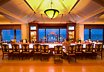 The Seafood Bar at the Breakers Hotel in Palm Beach, Florida.