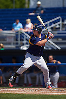 State College Spikes designated hitter R.J. Dennard (32) at bat during a game against the Batavia Muckdogs August 23, 2015 at Dwyer Stadium in Batavia, New York.  State College defeated Batavia 8-2.  (Mike Janes/Four Seam Images)
