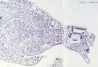 Venice:  Plan.  Bacon, Design of Cities, '86.   Reference only.