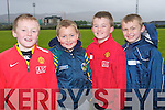 Pictured at Manor Community Games at Tralee Sports Complex on Thursday Night were Patrick Kearney, Michael Walsh, Aaron O'Keeffe and Diarmuid O'Connor.