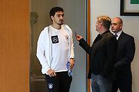 Mats Hummels (Deutschland Germany) - 04.10.2017: Deutschland Pressekonferenz, Stormont Hotel Belfast