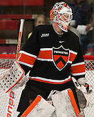 Mike Condon (Princeton - 1) - The visiting Princeton University Tigers defeated the Harvard University Crimson 2-1 in overtime on Saturday, March 2, 2013, at the Bright Hockey Center in Cambridge, Massachusetts.