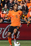 14 JUN 2010:  Giovanni van Bronckhorst (NED)(5).  The Netherlands National Team defeated the Denmark National Team 2-0 at Soccer City Stadium in Johannesburg, South Africa in a 2010 FIFA World Cup Group E match.