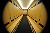 The changing room for the New York Islanders is seen during a tour of the newly upgraded Northwell Health Ice Center at Eisenhower Park on Tuesday, Oct. 31, 2017.