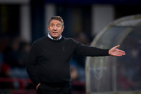 4th January 2020; Dens Park, Dundee, Scotland; Scottish Championship Football, Dundee FC versus Inverness Caledonian Thistle; Inverness Caledonian Thistle manager John Robertson asks the question of his players  - Editorial Use