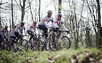 De Ronde van Vlaanderen 2016 recon with Team IAM