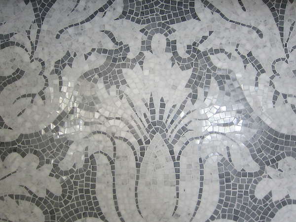 Kingston Lacey in Calacatta Tia and Bardiglio.<br />