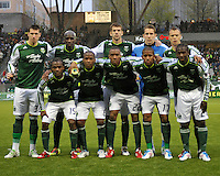 Portland Timbers vs Philadelphia Union during the MLS competition at Jeld-Wen Field, in Portland Oregon, May 6, 2011.  The Portland Timbers defeated Philadelphia Union 1-0.