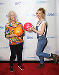 Jane Alexander and Maddie Corman during the 8th Annual Paul Rudd All-Star Benefit for SAY at Lucky Strike Lanes  on November 11, 2019 in New York City.