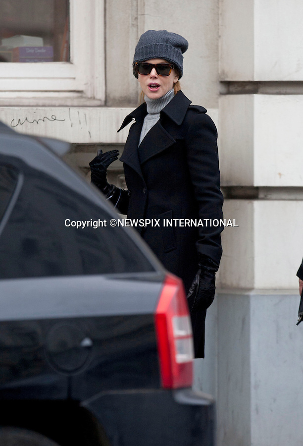 "EXCLUSIVE! Must telephone +441279 324672 for Usage/Reproduction Fees.Web Use Forbidden unless prior negotiated agreement...NICOLE KIDMAN_BELGIUM.goes shopping after completion of shooting ""Grace of Monaco""_Brussels, Belgium_01/12/2012.Mandatory Photo Credit: ©NEWSPIX INTERNATIONAL..**ALL FEES PAYABLE TO: ""NEWSPIX INTERNATIONAL""**..PHOTO CREDIT MANDATORY!!: NEWSPIX INTERNATIONAL..IMMEDIATE CONFIRMATION OF USAGE REQUIRED:.Newspix International, 31 Chinnery Hill, Bishop's Stortford, ENGLAND CM23 3PS.Tel:+441279 324672  ; Fax: +441279656877.Mobile:  0777568 1153.e-mail: info@newspixinternational.co.uk"