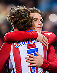 Antoine Griezmann of Atletico de Madrid celebrates during their La Liga match between Atletico de Madrid and RC Celta de Vigo at the Vicente Calderón Stadium on 12 February 2017 in Madrid, Spain. Photo by Diego Gonzalez Souto / Power Sport Images
