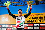 Alexander Kristoff (NOR) UAE Team Emirates wins the Green Jersey at the end of the 2018 Saitama Criterium, Japan. 4th November 2018.<br /> Picture: ASO/Pauline Ballet | Cyclefile<br /> <br /> <br /> All photos usage must carry mandatory copyright credit (&copy; Cyclefile | ASO/Pauline Ballet)