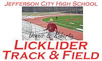 Licklider Track & Field Banner