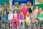 Junior Infants at Cahir National School in Kenmare .Back L-R Mort O'Shea, Theresa O'Shea (SNA), Ollie O'Shea, Thomas O'Reilly, Luke Mayhew, Fionn Frotscher Wharton, Julia Salvado McCormack, Chulainn Hussey, Ms Celine Lynch (teacher) Sinead O'Reilly, Holly Arthur and Anu? Hayes Breheny.Front L-R Jack Brown, Ciara Harrington, Laoise Carey, Kay Walton, Cian Bevan, Barry Fitzsimon and Vincent Wagenaar