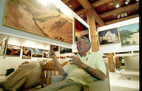 "Tucson Photographer Ray Manley---""Sunrise Monument Valley, in his gallery 2425 E. Fort Lowell Road...."