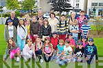 Chernobyl children who are staying in Killarney relax after  their trip to Dingle on tuesday