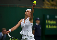 England, London, 23.06.2014. Tennis, Wimbledon, Maria Kirilenko (RUS)<br /> Photo:Tennisimages/Henk Koster